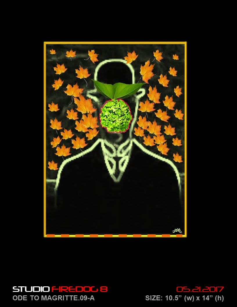 "Charles Perez ""Ode to Magritte"""